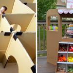 36 Fantastici Giochi a Costo Zero che Puoi Fare con le Scatole di Cartone
