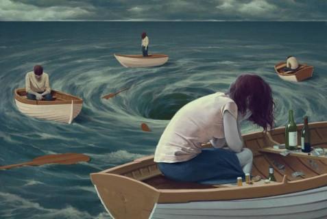 25 Illustrazioni con Messaggi Nascosti Mostrano il Lato Oscuro della Società Moderna