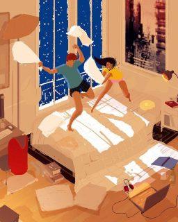 45 Illustrazioni per Descrivere la Gioia delle Piccole Cose della Vita di Ogni Giorno