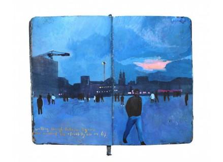 L'Artista che Racconta i Suoi Viaggi su una Moleskine: Ecco i Suoi Incantevoli Dipinti