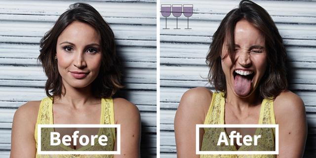 Wine Project: Come Cambia il Nostro Viso Dopo 1, 2 e 3 Bicchieri di Vino?
