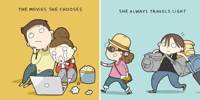 12 Motivi per cui é Impossibile Non Amare una Donna Secondo un Uomo