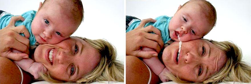 """Questi 20 Neonati Hanno Deciso di Rendere le Foto Davvero """"Speciali"""""""
