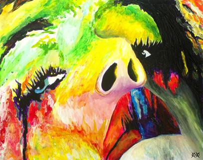 """Il Pittore Cieco che """"Sente"""" i Colori Per Dipingere: Ecco 20 Opere Straordinarie"""