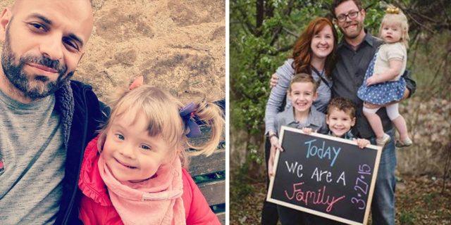La gioia immensa e le storie a lieto fine dei bambini adottati