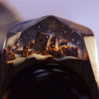 Secret Wood: 14 Anelli in Legno che Contengono Mondi Segreti!