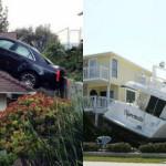20 Immagini Assurde e Inspiegabili di Macchine Volanti e Altri disastri simili