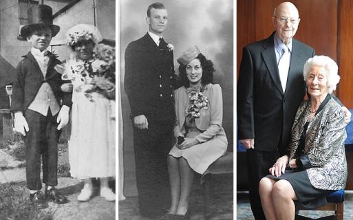 Un Amore Lungo Una Vita: 24 Coppie Ricreano Le Loro Vecchie Foto