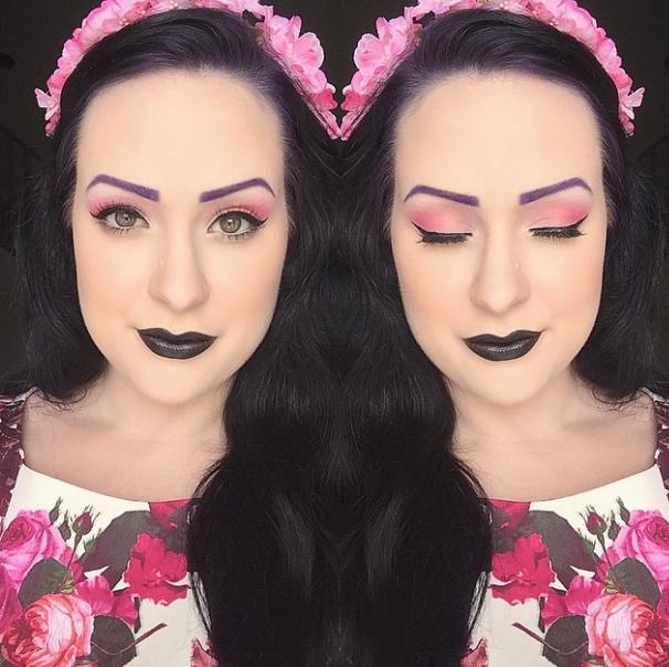 Rainbow Eyebrows, sopracciglia colorate per tutte: il Nuovo Trend del Momento