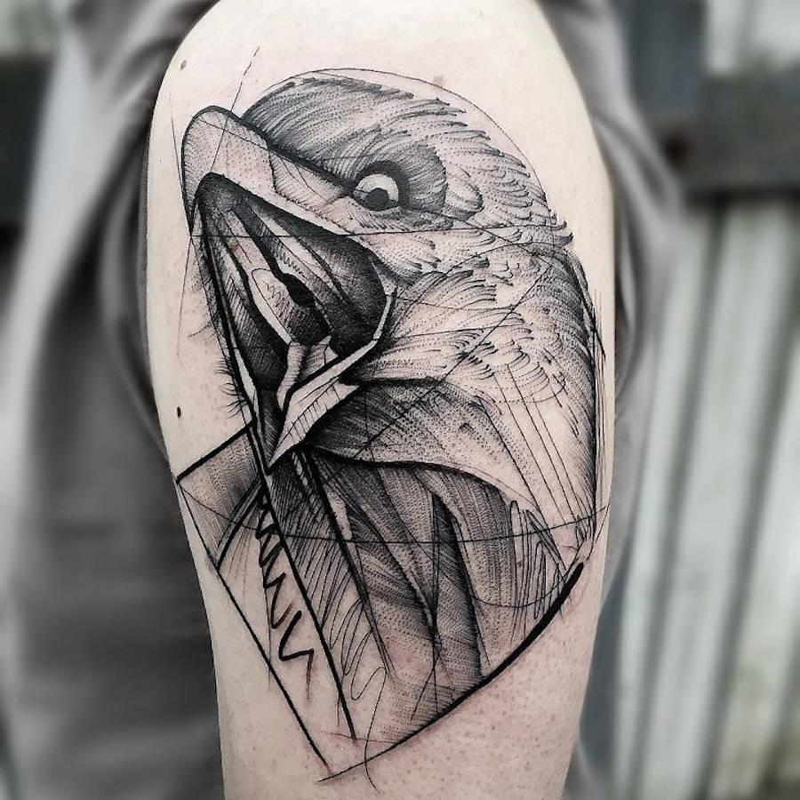Tatuaggi Geometrici: Quando le Linee Formano Disegni Perfetti