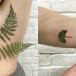 Tatuaggi Unici e Inimitabili con le Foglie: I Fantastici Lavori di Rit Kit