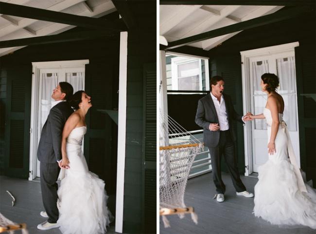 Vedono Per la Prima Volta la Sposa e Reagiscono Così: 14 Immagini di Sposi Emozionati e Stupiti