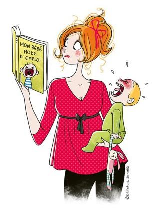 Vita da Mamme: Un'Illustratrice Cattura I Loro Momenti in Divertenti Vignette