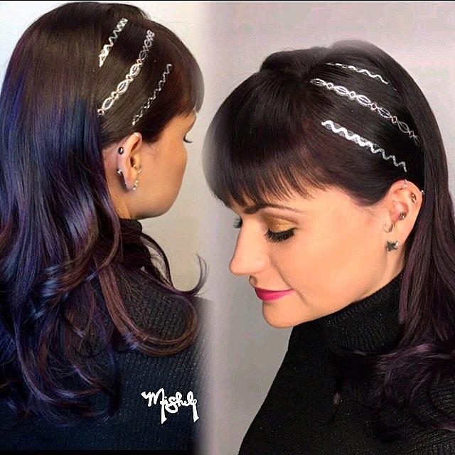 Hair Stenciling: il Nuovo Coloratissimo Trend Per Capelli 2016