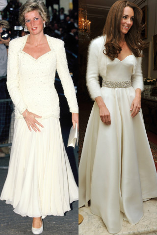 Kate Middleton come Lady D: 30 Volte in Cui si è Ispirata alla Principessa del Popolo