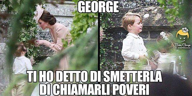 I meme più divertenti di Baby George