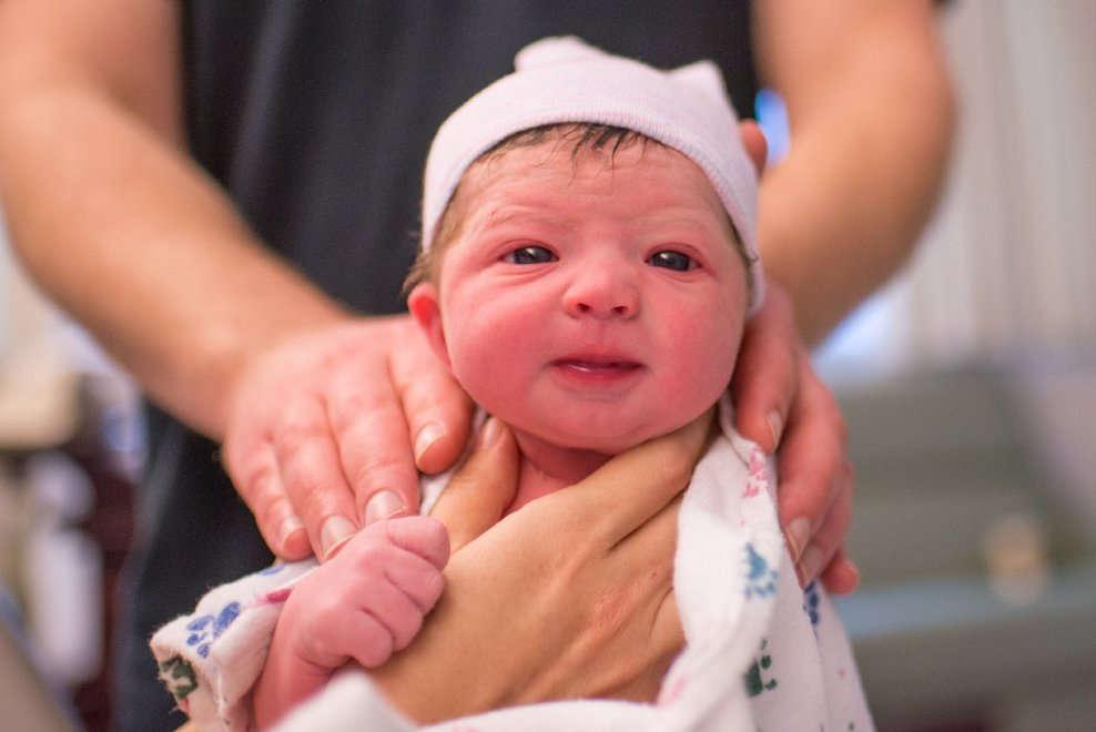 15 scatti della mamma fotografa che ha documentato il suo travaglio e il parto