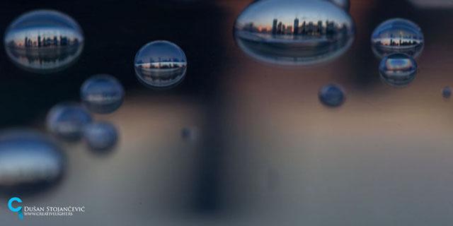 14 città viste attraverso una goccia: quante ne sai riconoscere?