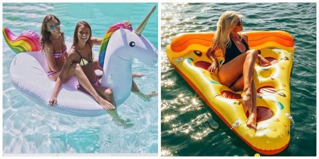Ecco i 18 gonfiabili pi belli e utili per il mare e la piscina roba da donne - Poltrone gonfiabili per piscina ...