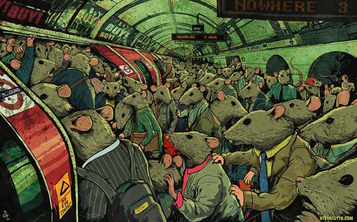 """""""Il punto di svolta"""": l'impressionante video di Steve Cutts che mostra la follia che ci sta uccidendo, tutti"""