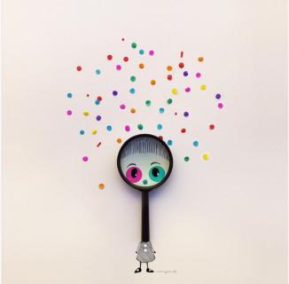 La realtà di ogni giorno vista con gli occhi della fantasia. 33 poesie in immagini da condividere