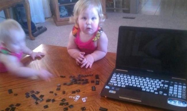 21 foto che dimostrano che con i bambini non ci si annoia mai