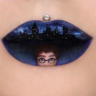 """Rossetti d'autore: """"Dipingere quadri sulle labbra mi ha aiutato a sconfiggere il cancro"""""""