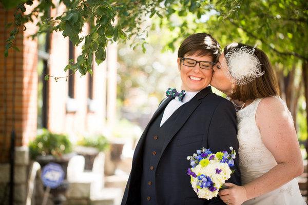 I vestiti di 18 donne che, al loro matrimonio, non hanno indossato un abito da sposa