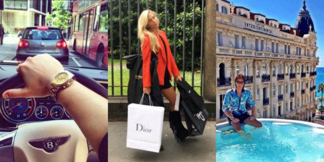 """""""Rich Kids"""" e star di Instagram: le follie e il lusso ostentato dei ragazzi più ricchi d'Italia"""