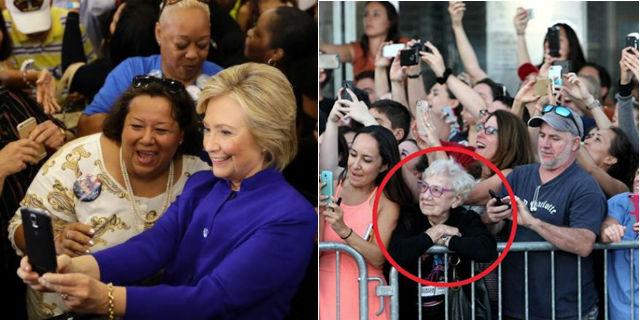 Le foto a (e di) star e personaggi famosi nell'epoca degli smartphone in 11 scatti
