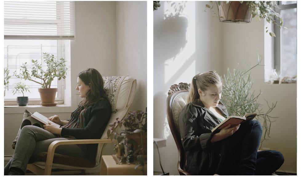 """""""Le donne che leggono sono le più sensuali"""": la prova in 34 scatti di Carrie Schneider"""
