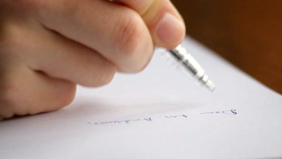 Grafologia: dimmi come scrivi e ti dirò chi sei