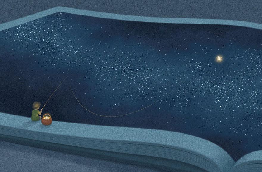 16 illustrazioni per veri amanti della lettura da usare come copertina Facebook!