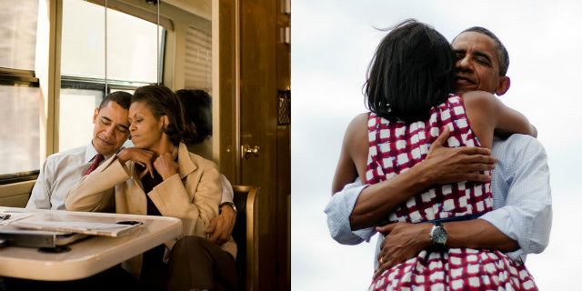 30 Foto che dimostrano quanto si amano Michelle e Barack Obama