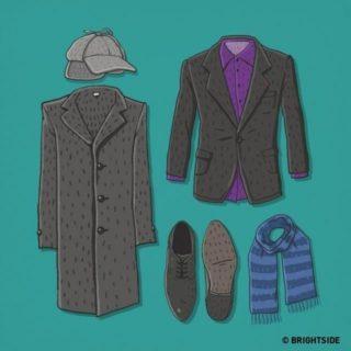 Ecco gli outfit di 10 personaggi di film e serie TV famosi, riuscite a indovinare a chi appartengono?