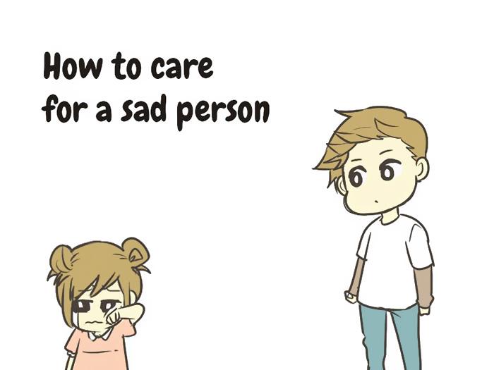 10 cose da fare per aiutare una persona triste cui volete bene