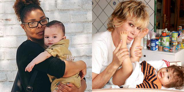 Da Janet Jackson a Gianna Nannini: le mamme VIP over 50