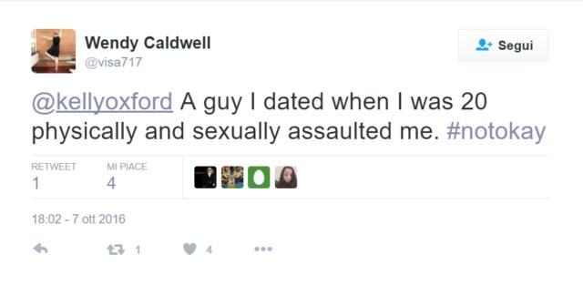 Storie di ordinaria violenza sessuale: 23 sconvolgenti tweet per dire #NotOkay