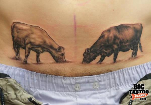 I tatuaggi pubici e sui glutei più assurdi o estremi di sempre