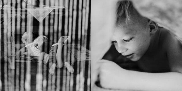 """""""Mio figlio è un bambino speciale con bisogni speciali"""": le foto della mamma di un bambino autistico"""