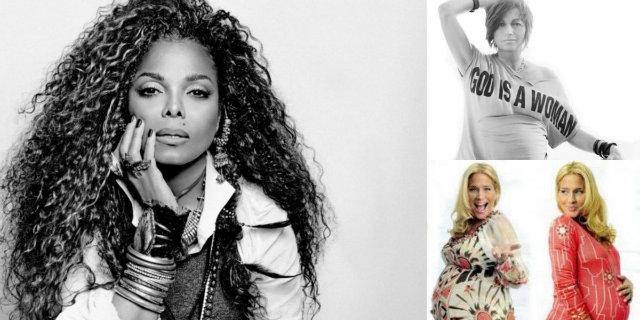 Janet Jackson incinta a 50 anni: la foto del pancione e le altre mamme VIP over 50