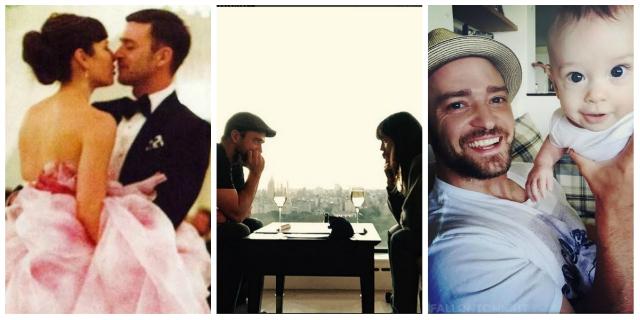"""Justin Timberlake e Jessica Biel: """"Ti amo fino alla luna e ritorno"""". 4 anni di amore festeggiati... così"""