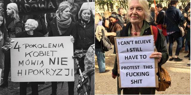 La Polonia emana un disegno di legge anti-abortista: scoppia la #ProtestaNera delle donne