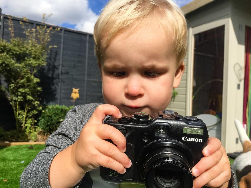 """""""Ho regalato a mio figlio la mia vecchia macchina fotografica: ecco cosa è successo"""""""