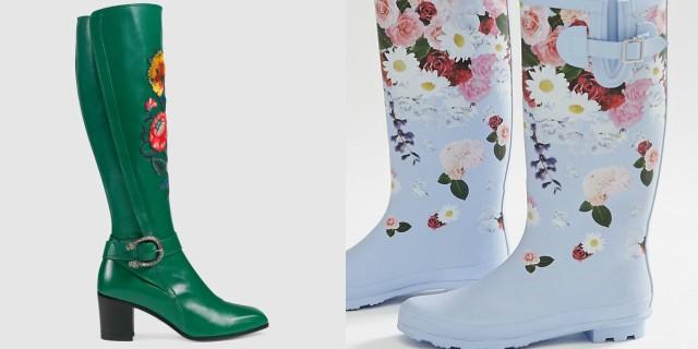 Novità moda autunno-inverno: siete pronte per gli stivali floreali o decorati?