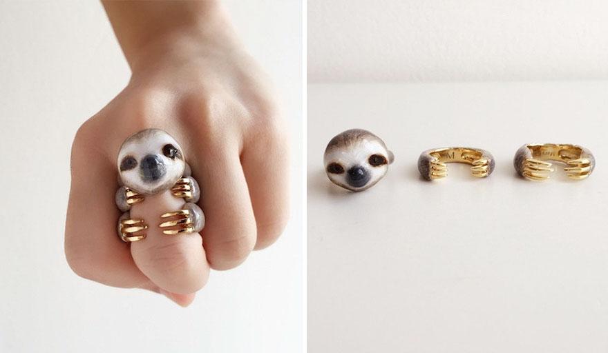 3 anelli in 1 che, insieme, danno vita a splendidi animali
