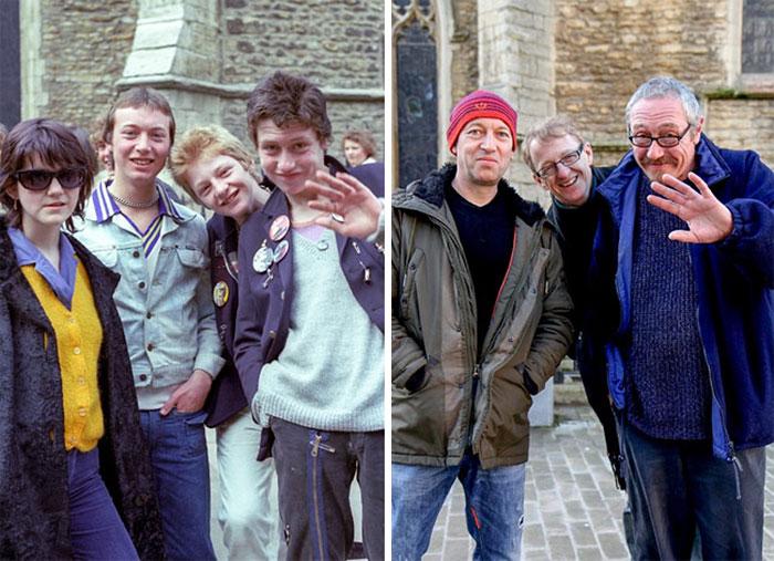 Fotografo di strada cerca e immortala le stesse persone 40 anni dopo