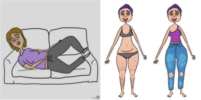 11 cose che le donne a volte fanno di nascosto ma che non si possono dire