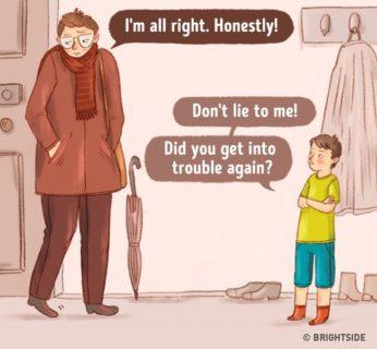 Cosa accadrebbe se i genitori si comportassero come bambini?