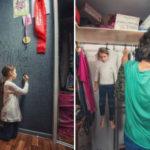 Padre e figlia trovano un modo divertente per mostrare alla mamma cosa succede quando lei non c'è